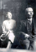 Frank O'Connor's parents - Michael (Mick) and Mary (Minnie)